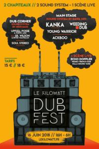 Le Kilowatt Dub Fest Affiche
