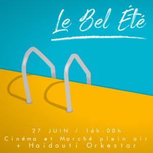 BEL ETE - CINE PLEIN AIR
